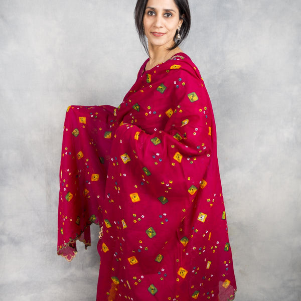 Mystique Printed Cotton Dupatta