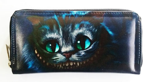 Alice in Wonderland - Cheshire Clutch, Wallet, Purse, Moleball