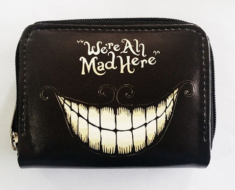 Alice In Wonderland - We're All Mad Here Cheshire Wallet