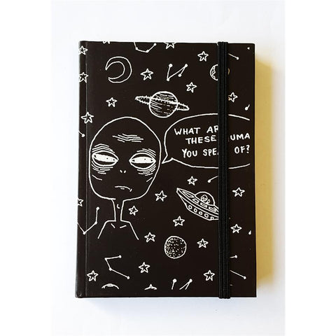 Alien, What Are These Human You Speak Of Notebook