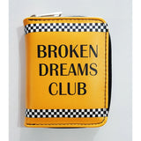 Broken Dreams Club Yellow Wallet