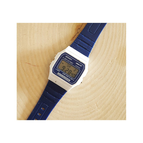 CASIQ Dark Blue White Watch