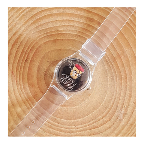 Harry Potter - Espresso Boss! Transparent Arm Watch