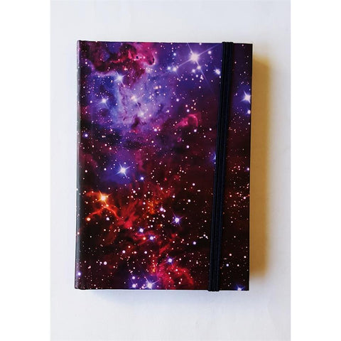 Red Galaxy Notebook
