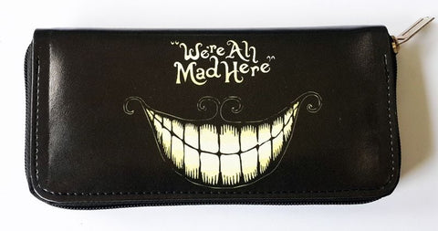 Alice In Wonderland - We're All Mad Here Clutch - Wallet - Purse