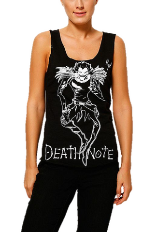 DEATH NOTE - RYUK ANIME MANGA GIRLS TANK TOP - moleball