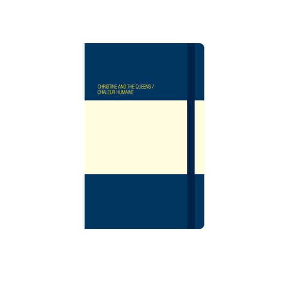 REAL MOLESKINE NOTEBOOK, BLUE,  - A6 (90x140 mm)