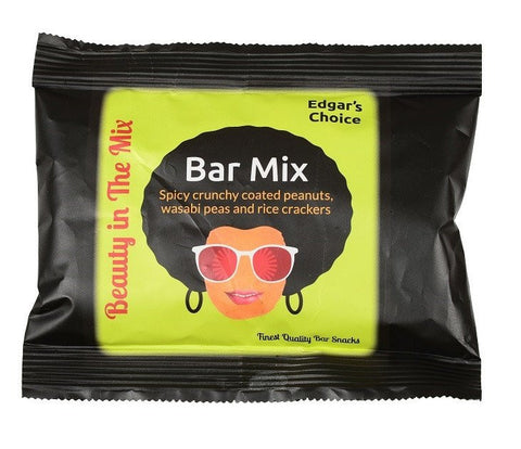 Bar Mix, 40g x 30 (Spicy crunchy coated peanuts, wasabi peas and rice crackers)