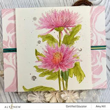Load image into Gallery viewer, Altenew Paint a Flower -Spider Mums Stamp