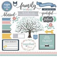 Family Elements 12x12 Sticker