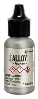 Tim Holtz, Alcohol Ink , Alloy Foundry