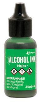 Tim Holtz Alcohol Ink Mojito
