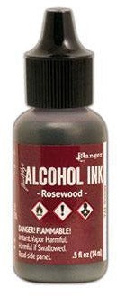 Tim Holtz Rosewood Alcohol Ink