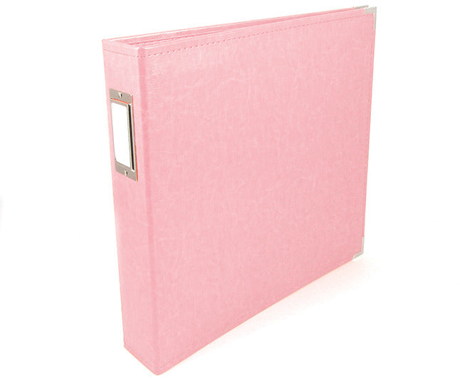 We R Memory Keepers 12x12 Ring Binder Pretty Pink