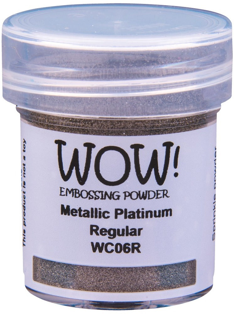 Wow metallic Platinum Regular Embossing Powder