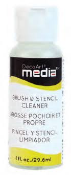 Brush & Stencil Cleaner - DecoArt