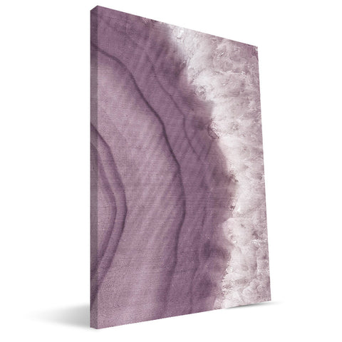 Purple Agate 16X24 Canvas Print R