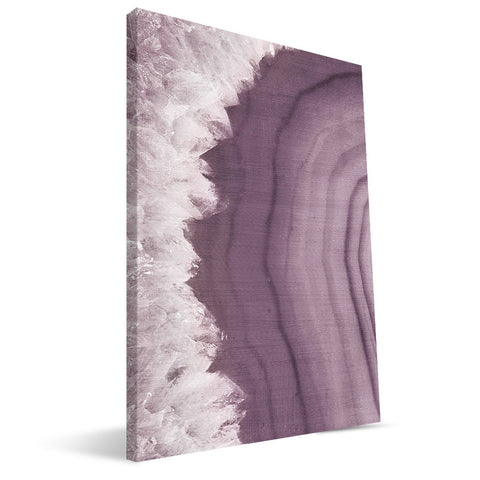 Purple Agate 16X24 Canvas Print L