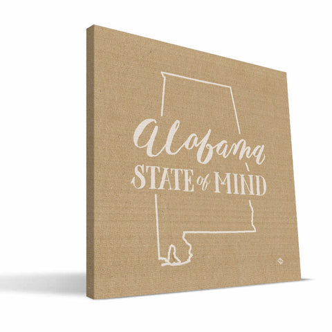 Alabama State of Mind Canvas Print