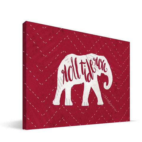 Alabama Crimson Tide Mascot Canvas Print