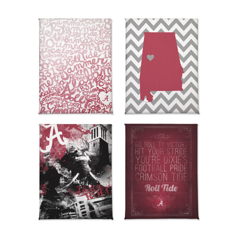 Alabama Crimson Tide Magnet Set