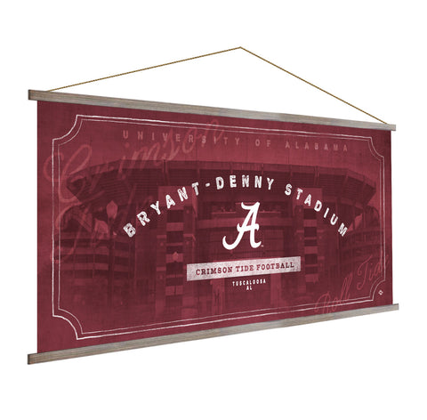 Alabama Crimson Tide Stadium Banner
