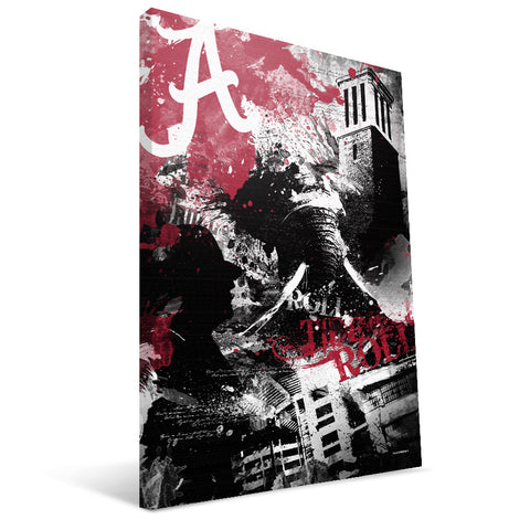 Alabama Crimson Tide Spirit Canvas Print