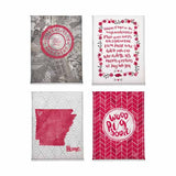 Arkansas Razorbacks Magnet Set