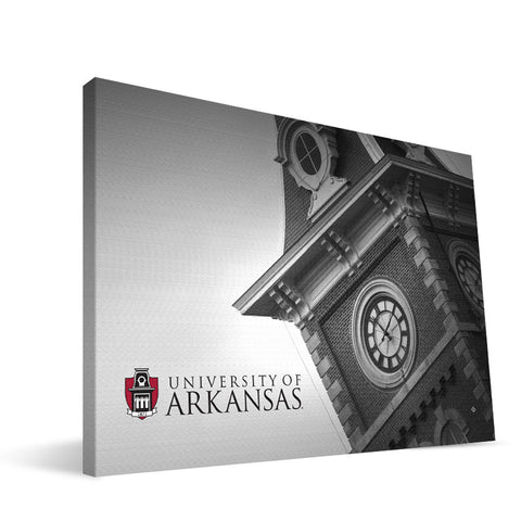 Arkansas Razorbacks Old Main Close Canvas Print