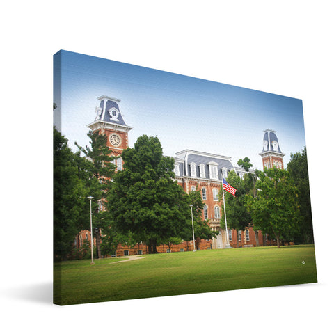 Arkansas Razorbacks Old Main Canvas Print