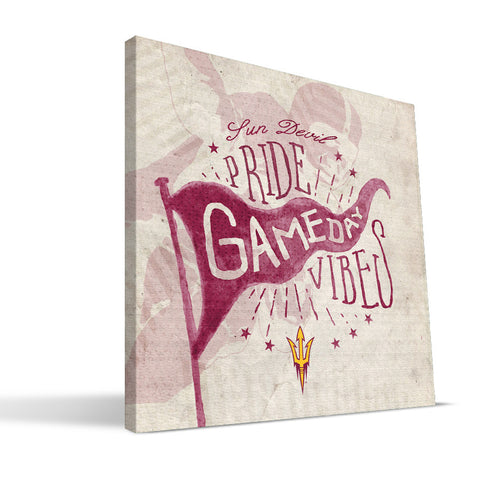 Arizona State Sun Devils Gameday Vibes Canvas Print
