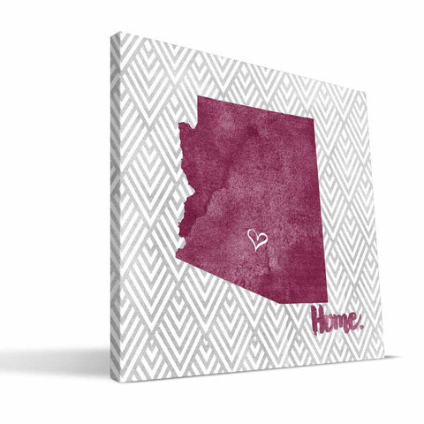 Arizona State Sun Devils Home Canvas Print