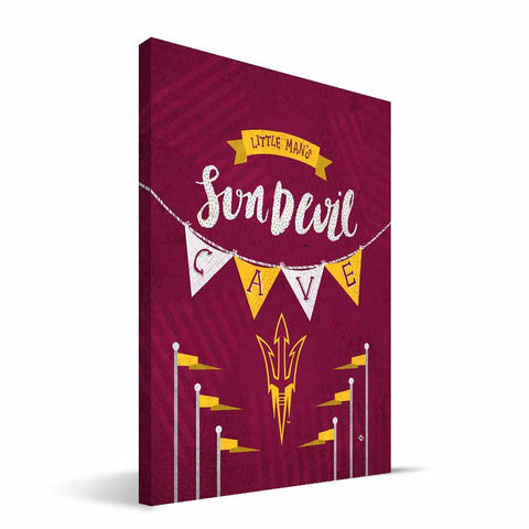 Arizona State Sun Devils Little Man Canvas Print