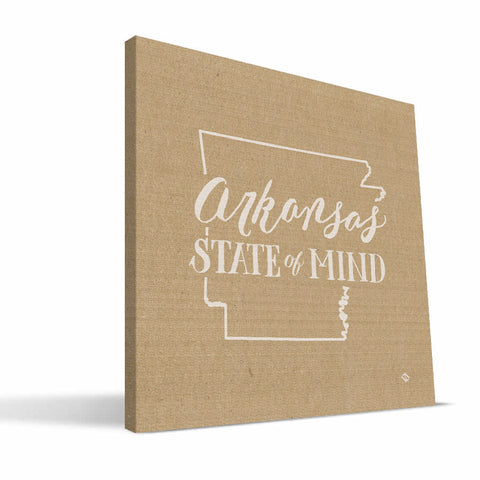 Arkansas State of Mind Canvas Print