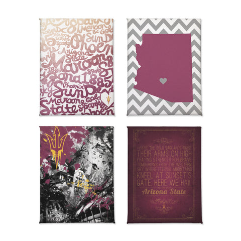 Arizona State Sun Devils Magnet Set