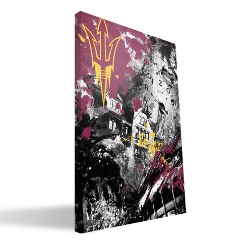 Arizona State Sun Devils Spirit Canvas Print