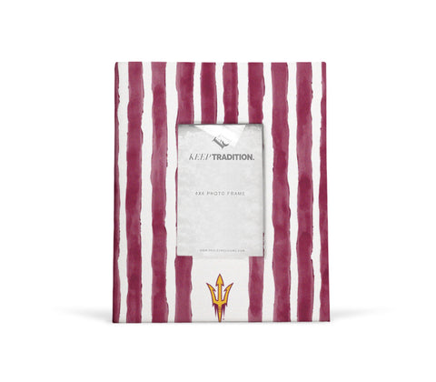 Arizona State Sun Devils School Stripes Picture Frame