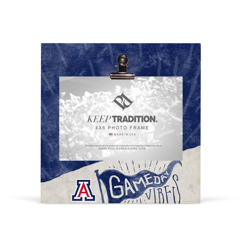 Arizona Wildcats Gameday Vibes Picture Frame with Clip
