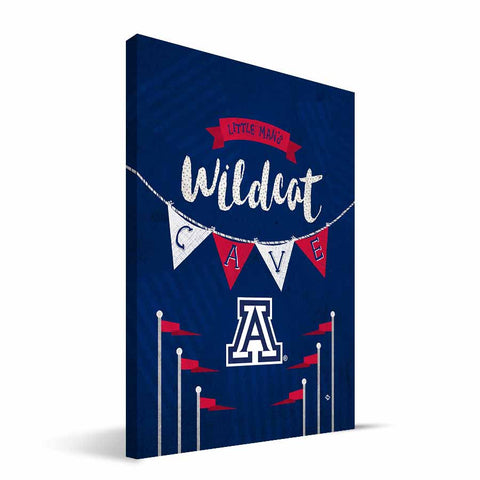 Arizona Wildcats Little Man Canvas Print