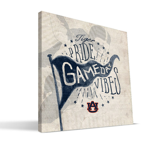 Auburn Tigers Gameday Vibes Canvas Print