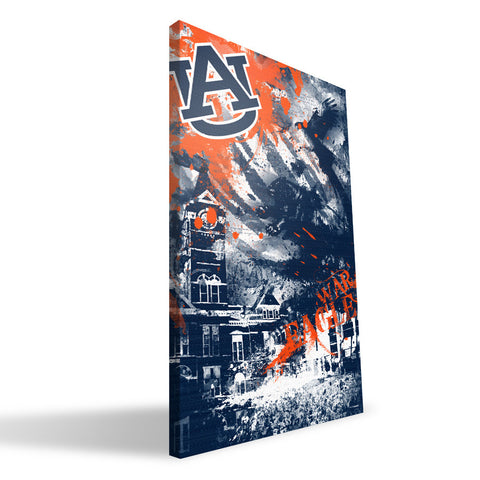 Auburn Tigers Spirit Canvas Print