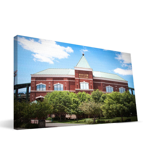 Baylor Bears Baylor Ballpark Canvas Print