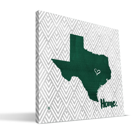 Baylor Bears Home Canvas Print