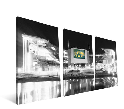 Baylor Bears McLane Stadium Canvas Print