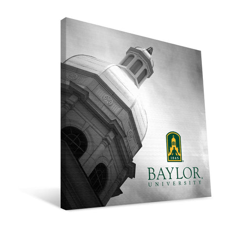 Baylor Bears Pat Neff Steeple Canvas Print