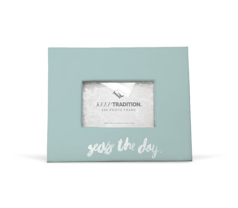 Seas the Day Picture Frame