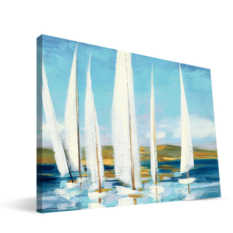 Sail Boats Canvas Print