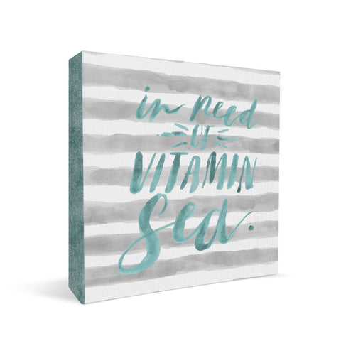 Vitamin Sea Square Shelf Block