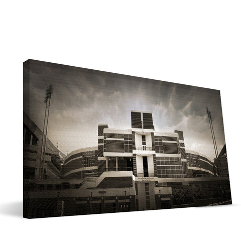 Clemson TIgers Memorial Stadium Canvas Print