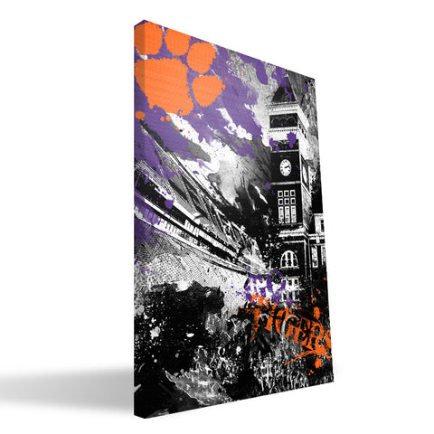 Clemson Tigers Spirit Canvas Print